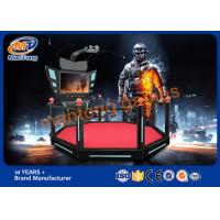 High Disposition Virtual Reality Products Motion Ride Simulator Various Color