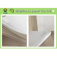 Wholesale C1S Grey Cardboard Paper Clay Coated News Board 230gsm Water Resistance from china suppliers