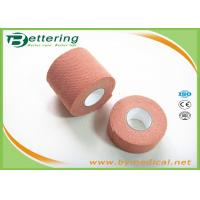 Wholesale Brick Red Colour synthetic elastic finger protection tape Wrist Protection Fixation Tape for wound dressing from china suppliers