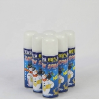 Wholesale Crazy Color PP Cap Tinplate Can 200ml Party Snow Spray from china suppliers
