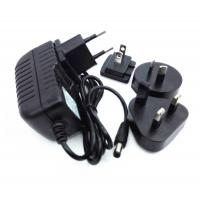 Wholesale 9V 1A  5V 2A 18V 1A 12V 1A 2A  24V 1A 24V 2A 36V 1A  interchangeable plug power adapter with CE FCC ROHS UL GS SAA from china suppliers