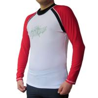 Wholesale BONZ Men's Sport Fit Rashguard Surf Swimwear Shirt Long Sleeve from china suppliers