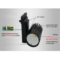 Wholesale 18w Black Led Track Spotlights External Driver With CE / RoHS Approved from china suppliers