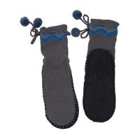 Wholesale Non Slip Foot Aloe Vera Infused Socks Gray Shea Butter Fragrance from china suppliers