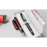 Wholesale gift box packed advertising metal roller pen,gift box metal pen from china suppliers