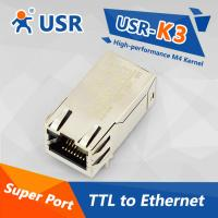 Buy cheap [USR-K3] Embedded TTL to Ethernet server TCP/IP module, DHCP,HTTPD client, Webpage from wholesalers