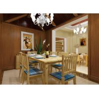 Wholesale Dining Room Background WPC Wall Cladding Composite Integrated Wallboard Panel from china suppliers