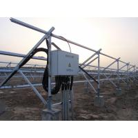 Wholesale SPD Grey Steel Solar PV Combiner Box DIN / VDE , DC Array Combiner Box from china suppliers