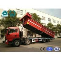 Wholesale 12 Wheels Mining Tipper Trucks For Loading Construction Material , 336HP Engine from china suppliers