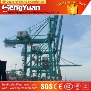 Widely used portal crane, ship-unloader for railroad