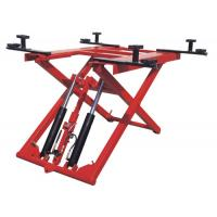 Wholesale Low Profile Two Post Hydraulic Auto Lift 1100mm , 380V 2.8T Scissor Car Lift from china suppliers