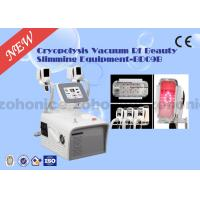 China 5M RF frequency RF Red Light Laser Body Slimming Machine Cryo Therapy Vacuum Two Handles 92*75.5*44CM on sale