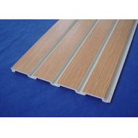 Wholesale PVC Slatwall for Store Fixture PVC Wall Cladding Panels For Garage Wall from china suppliers