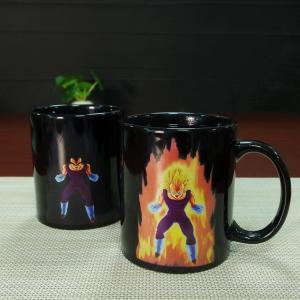 Wholesale Promotional gift  heat sensitive photo mug cartoon dragon ball vegeta from china suppliers