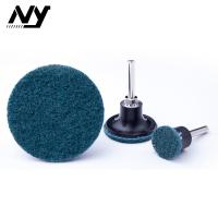"""Quality Ultra Fine Round 2"""" Roll Lock Sanding Disc For Blending Machine Tool Marks for sale"""