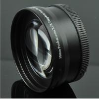 Quality 58mm Telephoto Macro Lens / Zoom Camera Lens Fashionable Easy Operation for sale