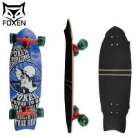 """Wholesale Custom High Quality 8 Ply Canadian Maple Longboard Skateboard, Longboard Skateboard with 6"""" Paris Trucks from china suppliers"""