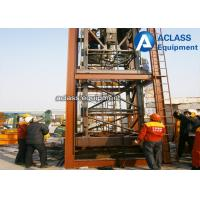 Wholesale 35m Jib 2.5 ton Internal Climbing Tower Crane , Hydraulic Mobile Crane QTZ 25 from china suppliers