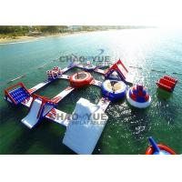 Quality Giant Floating Inflatable Aqua Park 0.9mm PVC Tarpaulin Inflatable Water Games for sale