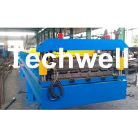 Wholesale 3 Kw Hydraulic Motor Power Trapezoidal Roofing Sheet Roll Forming Machine TW-RWM from china suppliers