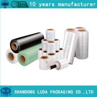 Wholesale Jumbo roll hand Stretch Wrap Film, PE Cling Film strech film from china suppliers