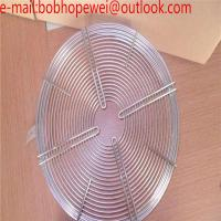 Wholesale round fan protection guard grid/120mm Metal Fan Grill Cover Radiating Protective Cover Net Filter Guard 120mm*120mm from china suppliers