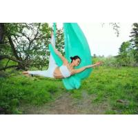 Wholesale High quality Yoga hammock full set Anti-gravity Aerial Yoga swing including the accessory from china suppliers