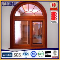 Wholesale aluminum round window ,aluminium arch window from china suppliers
