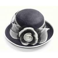 China Sinamay Hat with Flower on sale