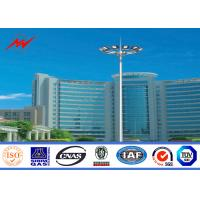 Buy cheap Customized 50ft Polygonal Stadium Football High Mast Light Tower For Football Stadium with 40 HPS Lights from wholesalers