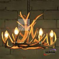 Wholesale MASO Chandelier Lighting Six Lamps Antler Shape E14 Lighting Base Zhongshan Factory from china suppliers