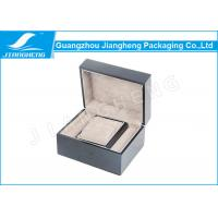 Wholesale Hot Foil Stamping Jewellery Gift Wooden Boxes Plain Gift Box With Hinged from china suppliers