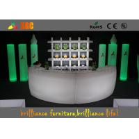 Wholesale Outdoor LED Bar Chair And Table , LED Glowing Furniture Sets For Party from china suppliers