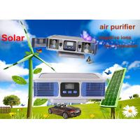 Wholesale 12V DC Blue Silver Home Solar Air Purifier with Negative Ions for Dispelling Smoke from china suppliers