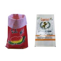 Wholesale Flexible 25Kg White Flour Sack Bags Polypropylene Woven Wheat Atta Packing Bags from china suppliers
