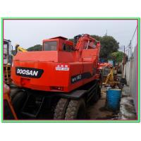Wholesale Used wheel excavator DOOSAN excavator for sale DH150 DH140 wv DH130 wv from china suppliers