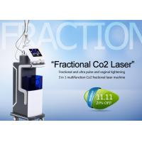 Wholesale 10600nm Co2 Fractional Laser Treatment Machine For Skin Resurfacing / Acne Scars from china suppliers