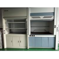 Wholesale 1200 / 1500 / 1800 mm White / Blue Anti Corrosion / Acid / Alkali Steel Fume Hood Manufacturers from china suppliers