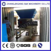 Wholesale Recyling WPC Two Shaft  Wood Crusher Machine Shredder Equipment Low Noise from china suppliers