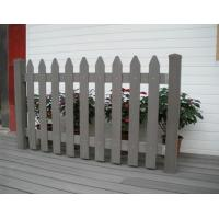 Wholesale Picket Fence Wood Plastic Composite Fence / External Wall Decoration Panel from china suppliers