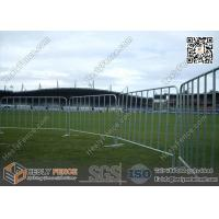 Wholesale 8' Steel Crowd Control Barriers | Flat Steel Base | Australia and New Zealand Standard from china suppliers
