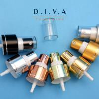 Wholesale Aluminum clear cap water perfume mist sprayer pump from china suppliers