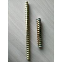 Quality Scaffolding components φ12 17mm  6m / 3m zinc plate and self finish tie rod for sale