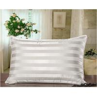 Wholesale Quliting Down And Feather Pillows Cotton 2CM Stripe Lining White from china suppliers