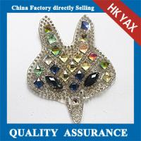 Wholesale D0930 Glass beads rhinestone patch, glass rhinestone patch, china supplier rhinestone glass patch from china suppliers