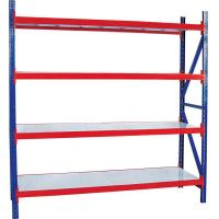 Wholesale Q235B Steel Multilevel and Warehouse Light Duty Shelving, 500-3900mm Length from china suppliers