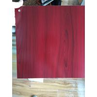 Wholesale PVC Faux Wood Laminate Sheets Low Carbon Glossy Printing 1220×2440 mm from china suppliers