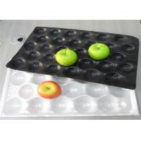 Wholesale Moisture Proof Fruit Packaging Trays Black And White Color Custom Logo Printed from china suppliers