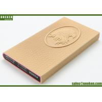 Wholesale Eagle Design Leather Power Bank 3000mah Mobile Phone Charger For Iphone / Samsung from china suppliers