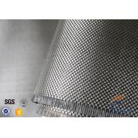 Wholesale 200g Twill Weave 3K Carbon Fiber Cloth Silver Coated Fabric For Decoration from china suppliers